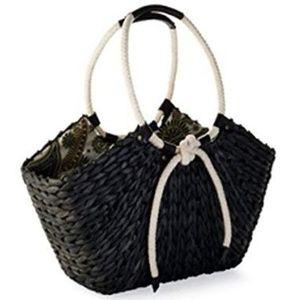Bag Lady by Mud Pie Cornhusk Tote
